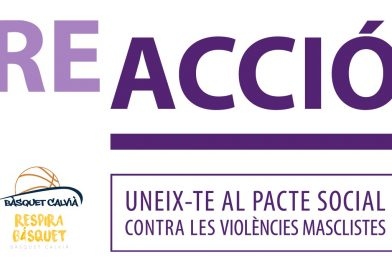 El Bàsquet Calvià se une al pacto 'REACCIÓ'
