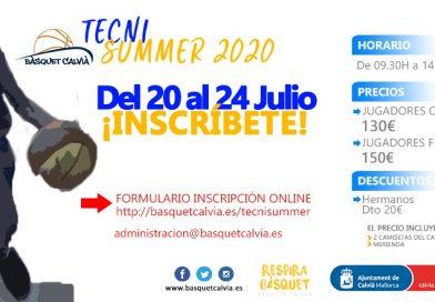 El Tecnisummer 2020 cambia de fechas