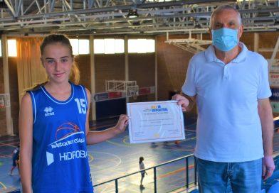 El Bàsquet Calvià concede su Beca Deportiva a Paula Colomar